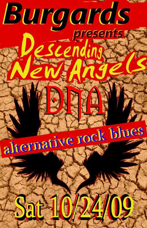earthy poster DNA-burgards