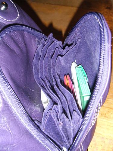 Inside Front Pocket Namaste Zuma