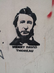 Henry David Thoreau - Stencil