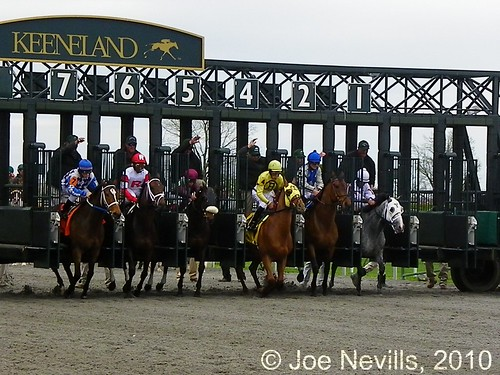 Keeneland Race Course 4/3/10 Race 2