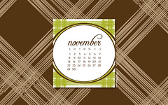 November 2009 Desktop Wallpaper Calendar