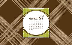 November 2009 Desktop Wallpaper Calendar
