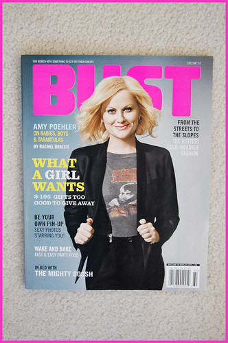 BUST magazine -- dec/jan 2010