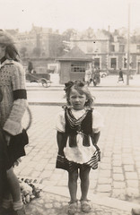 Little girl, Poland, summer 1946