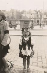 Little girl, Poland, summer 1946