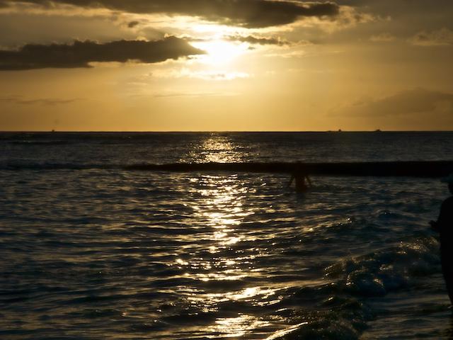 Waikiki evening