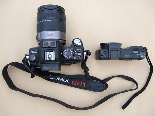 Panasonic GH1 vs. Ricoh GX100