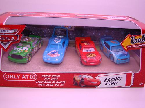 Disney CARS Target Lenticular 4 pack (3)