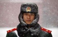 Scary Chinese soldier