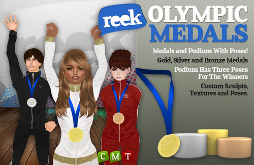 Reek - Olympic Medals