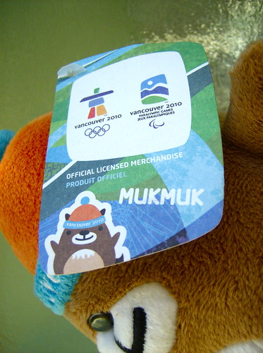2010 VANCOUVER WINTER OLYMPICS | THE LOOK OF THE GAMES :: MASCOTS ::: MUKMUK 3