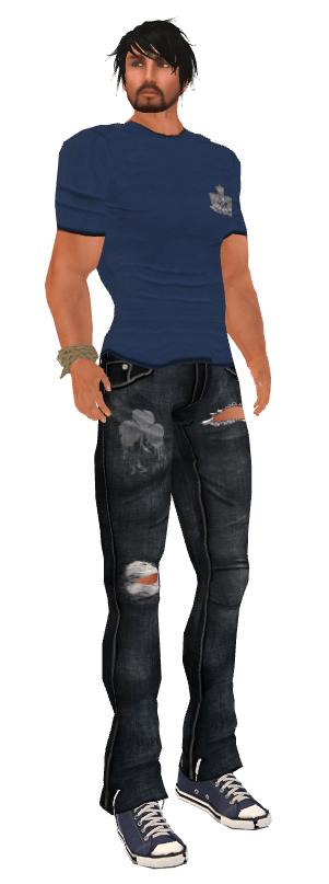 FIR Shamrock Jeans & Royal tee