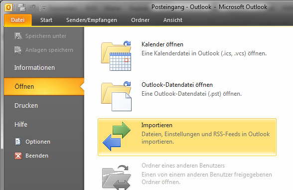 Kontakte In Outlook 2010 Importieren I Can Compute