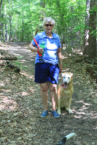 Bull Run Occoquan Trail - Mom and Sunny