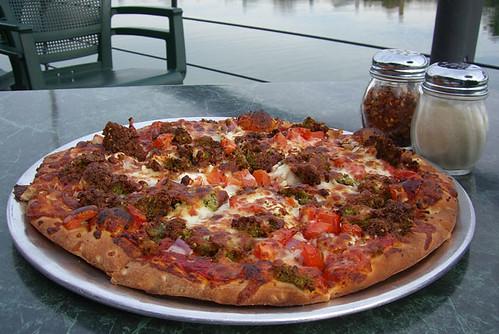 falafel pizza waterfront