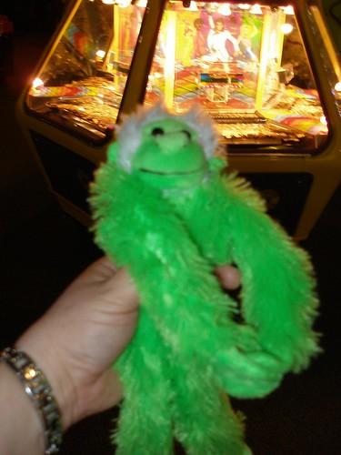 I got a monkey!