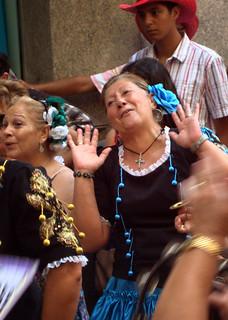 Feria happy lady