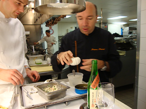 Chefs Humm and Pourcel
