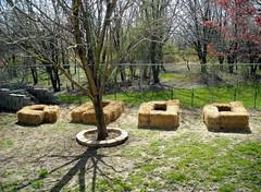Spring Straw Bale Gardens