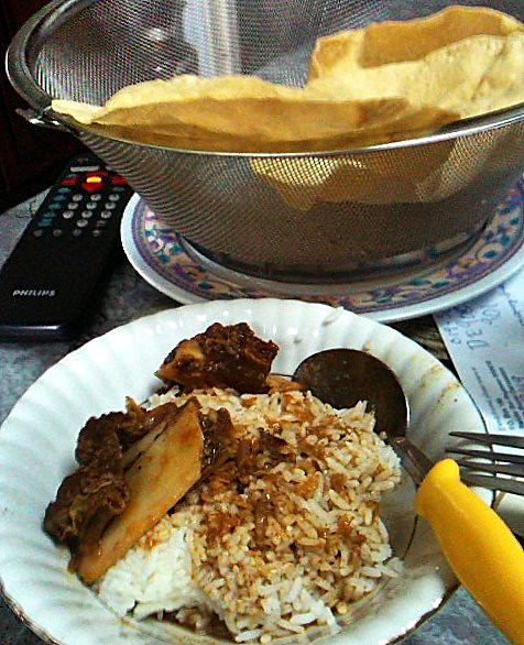 Today's lunch: Nasi Kandar Tanjong Nangka
