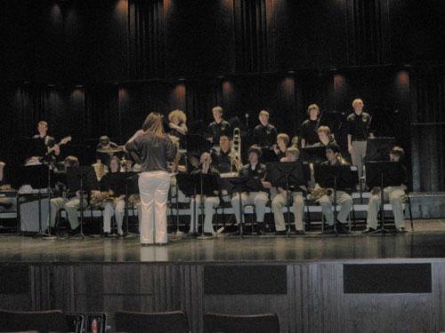Jazz Festival - MSU - 2-27-10