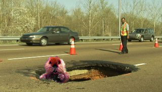 Memphis Sinkhole Fan Photos