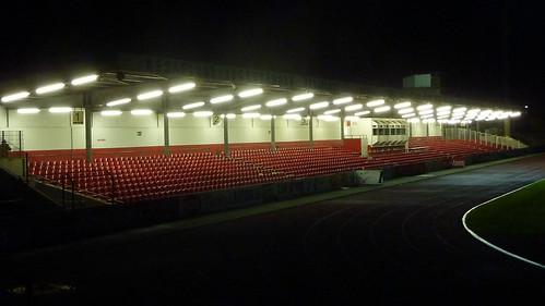 Südstadion nach dem Abendspiel