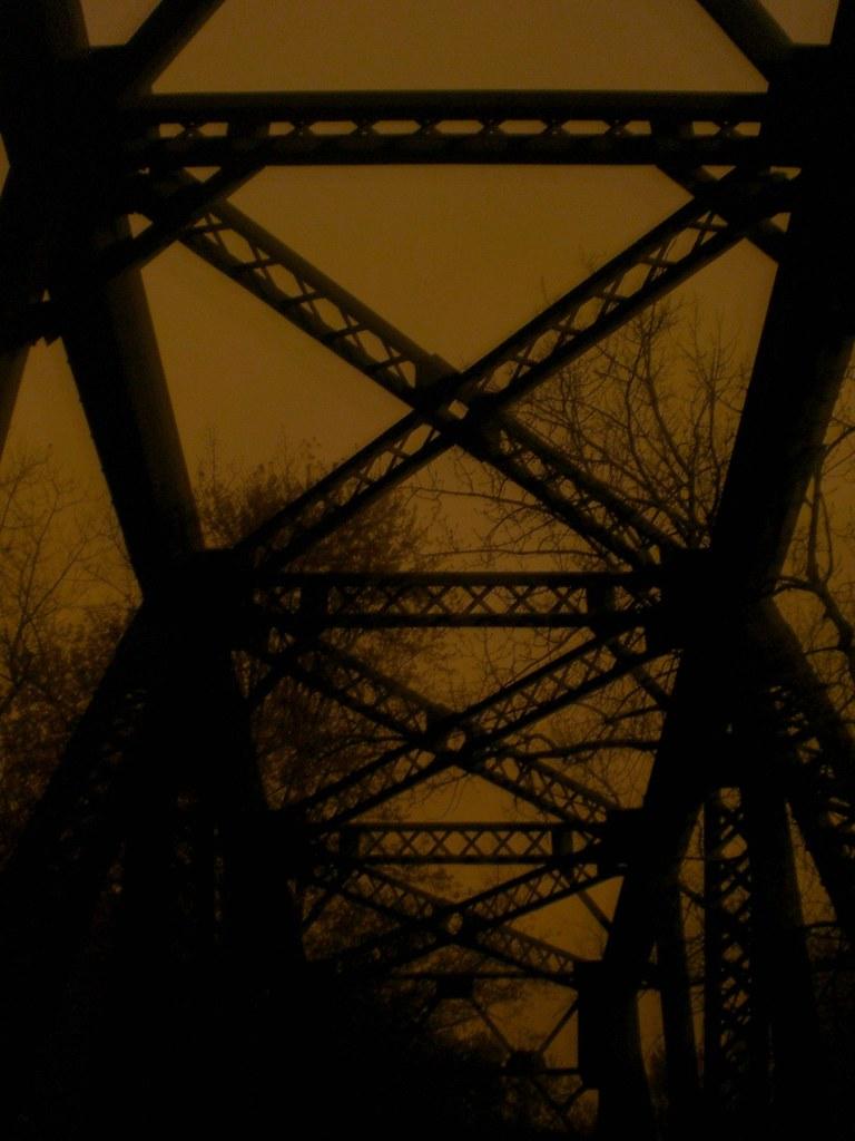 Railroad bridge over Conn. River, Hartford