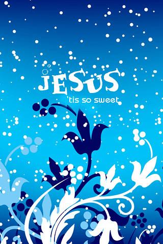 Jesus, 'tis so sweet