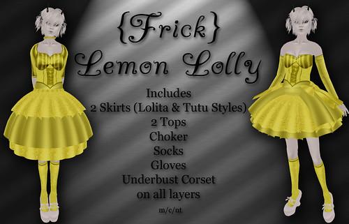 Frick - Lemon Lolly