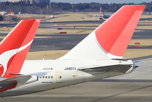 JAL B747-400(JA8071)