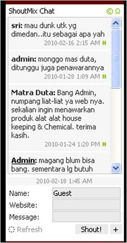 ShoutMix Chat