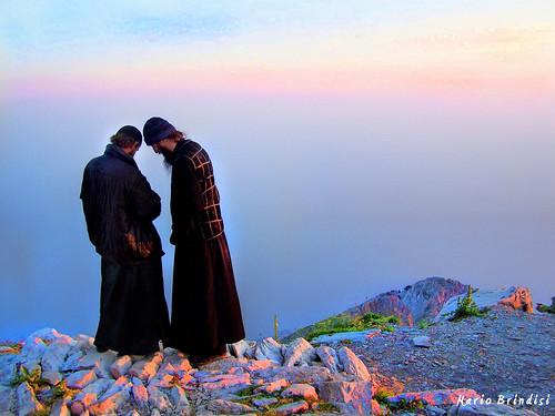 Cima del Monte Athos - Grecia - Mount Athos peak - Greece