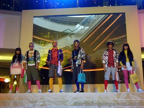 Mega Atrium Japan theme fashion