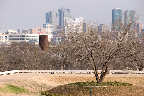 Fort Worth from the Steps of the Amon Carter