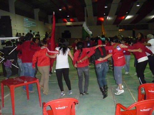 The Red Group Worshiping