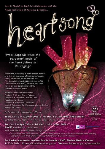 Heartsong poster & performance details