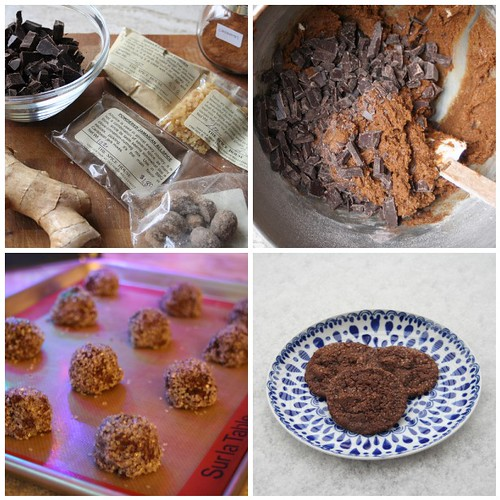 Chewy Chocolate Gingerbread Mosaic