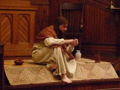 Bill Oberst Jr. in JESUS OF NAZARETH live perf...