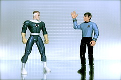 Mr. Fantastic vs. Mr. Spock (46/365)
