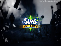 3/26/10 - 2 wallpapers of The Sims 3 Ambitions by Dimension Sims (Portuguese)