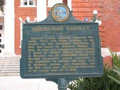 Hernando County Marker