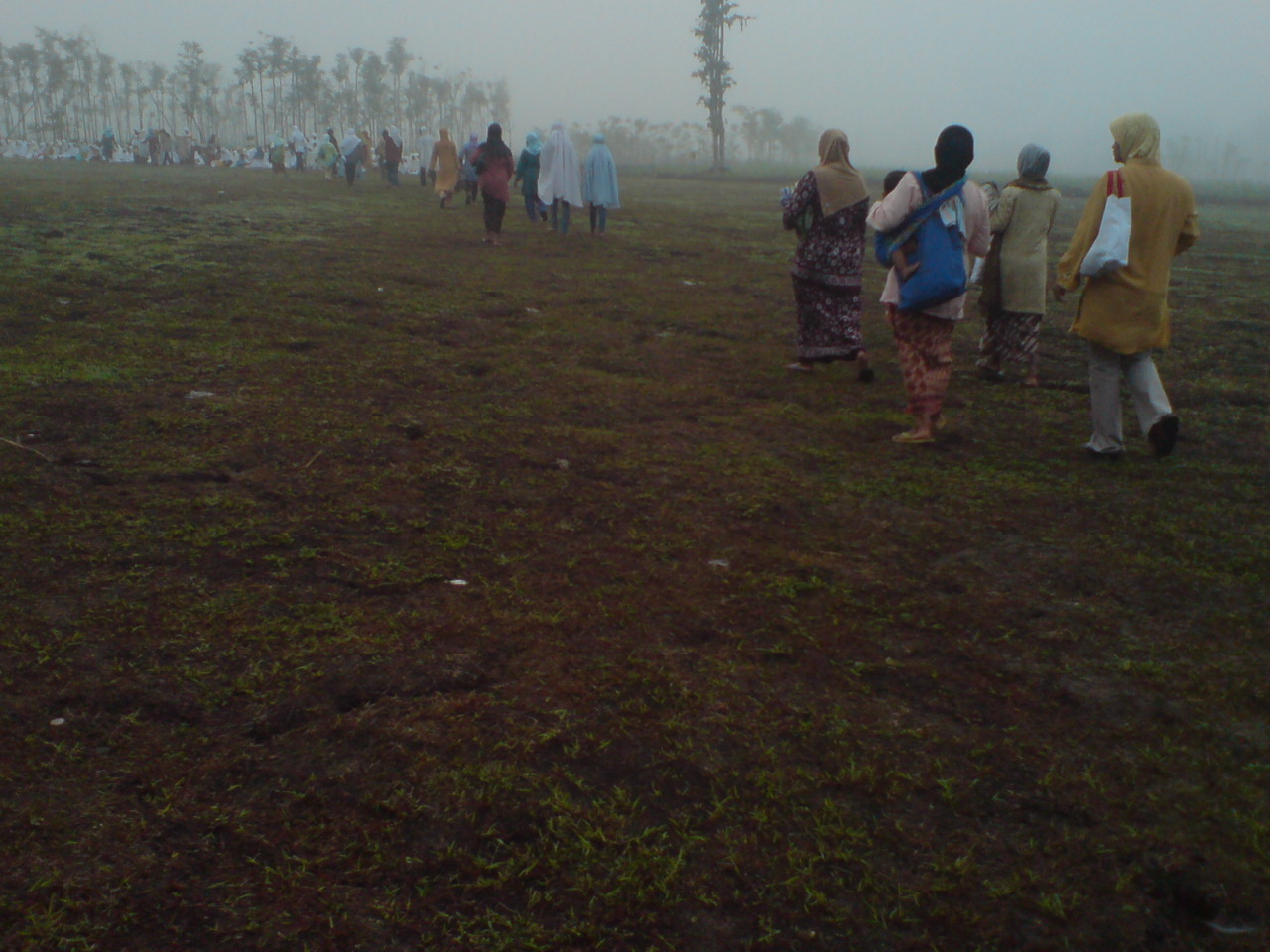 Shalat Ied di lapangan #grogol #indonesiabanget 03
