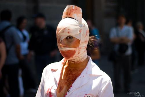 Nurse Zombie.