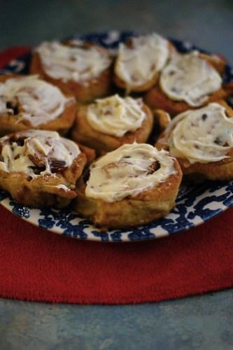 gf cinnamon rolls