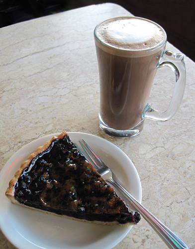 Blueberry Tart & Mocha