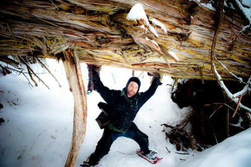 Snowshoe Adventure in the Ancient Rainforest - Prince George, British Columbia