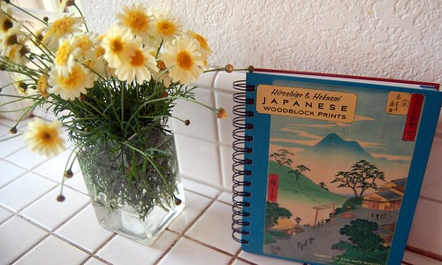 flowers and personal planner