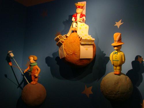 Acendedor, Rei e Vaidoso - O Pequeno Príncipe/Le Petit Prince