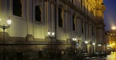 Nové plynové osvětlení na Malostranském náměstí v Praze